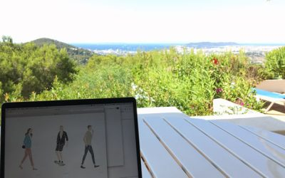 We had to go on vacation to build a new website, but it worked!
