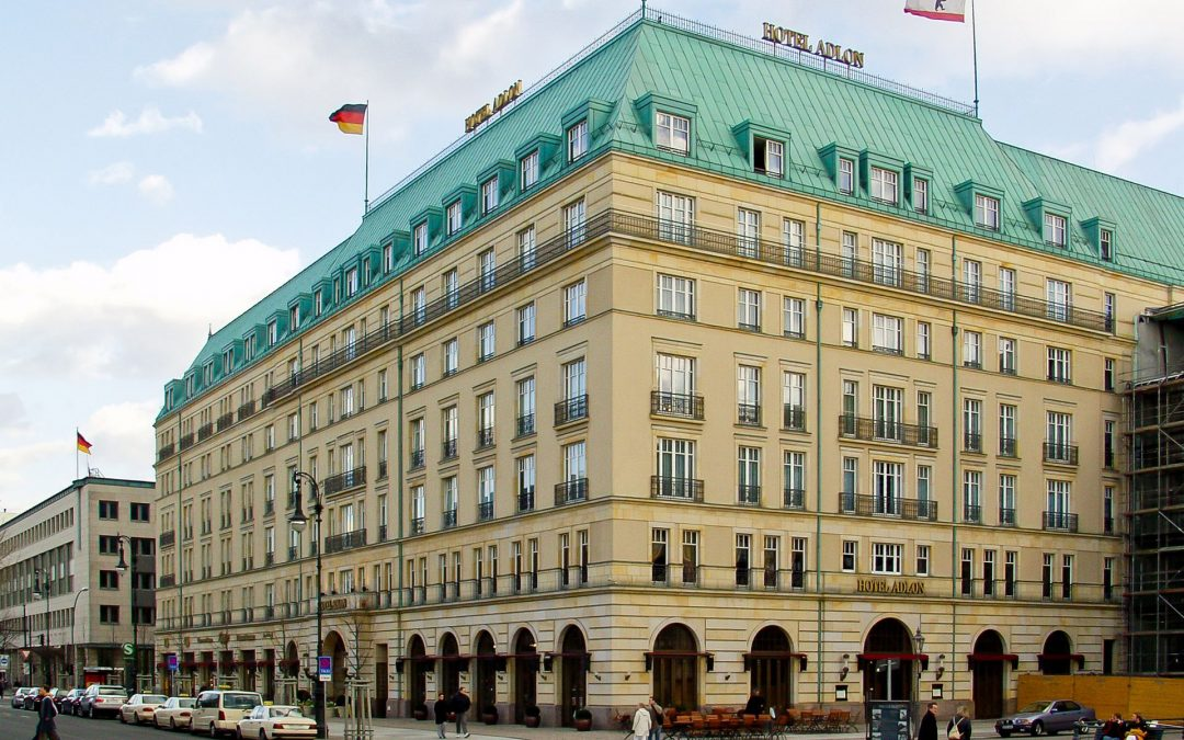 """We're partnering with Germany's most famous hotel, the """"Adlon"""""""